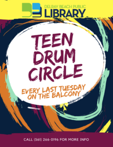Teen Drum Circle - Delray Beach Public Library