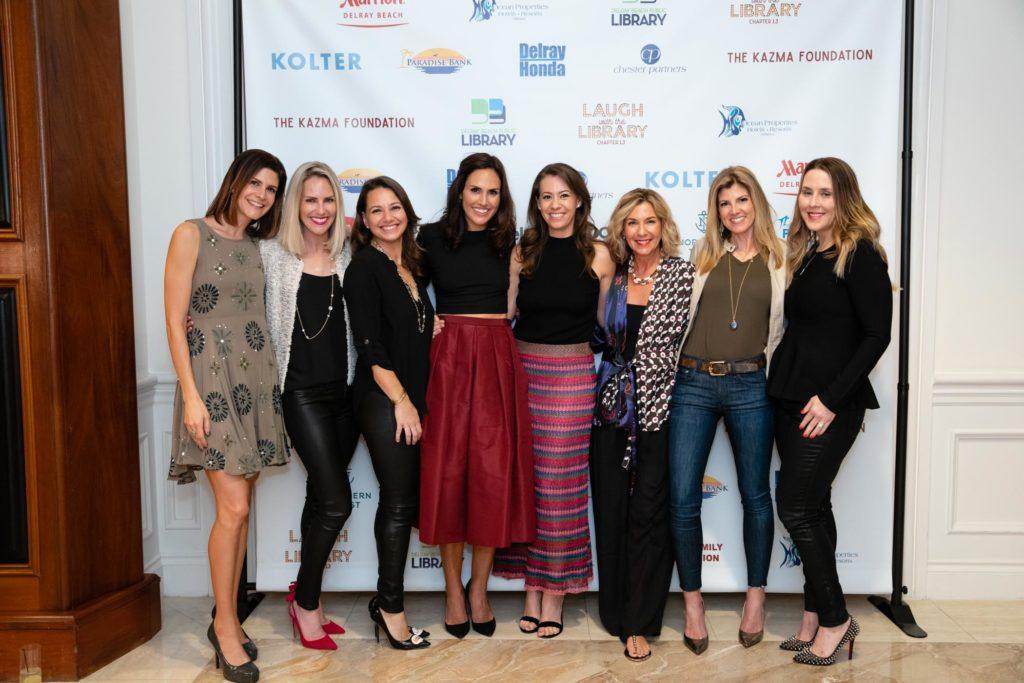 Ali Levin, Nynke Henderson, Vanessa Levy, Chiara Clar, Ari Kobren, Therese Snyder, Tammy Konrad and Emily Wilson